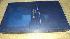 SONYプレステ2 SCPH-37000本体ジャンク品 スケルトンブルー