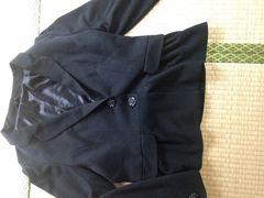リュリュ大きいサイズ訳あり黒ジャケット1スタ