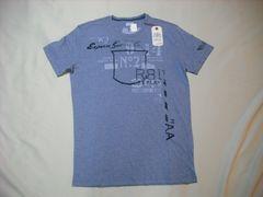 45 男 REPLAY リプレイ 青 半袖Tシャツ Lサイズ