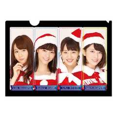 即決 乃木坂46 クリアファイル 7/ Merry X'mas Show 2015 新品