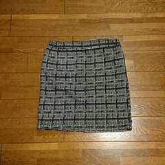アナップ/ANAP/タイトミニスカート/モノトーン/フリーサイズ白黒