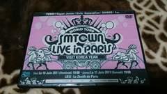 SMTOWN LIVE IN PARIS 2011 DVD 少女時代 SHINEE