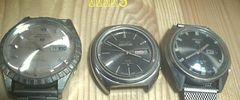 ジャンク セイコー 5 ファイブ 3つ まとめて自巻き腕時計