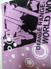 新品ORANGE RANGE LIVE TOUR 009-010 WORLD WORLDタオル