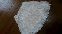 120�pレーススカート ホワイト