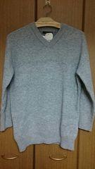 ◆w closet*Vネックセーター◆レディースF