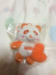 ハートえ〜パンダ 橙 オレンジ