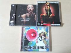 MUNEHIRO(鈴木紗理奈)CDS3枚セット★
