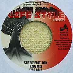 豪華コラボ!FIRE BALL feat. T.O.K「STRIVE」
