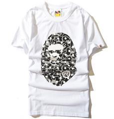 エイプ 半袖Tシャツ XLサイズ big mo白 a bathing ape