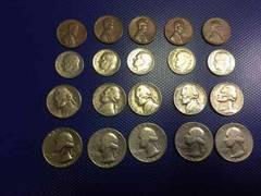 アメリカリバティーコイン4種類5枚セット!オマケ手品