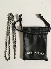 deal design ディールデザイン エンドプレート ネックレス