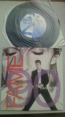 デビッド・ボウイ7インチシングルレコードフェイム90リミックスバージョン ジョンレノン共