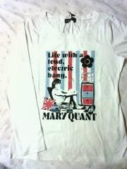 即決◆今季新品◆マリークヮント◆定番長袖TロングTシャツ
