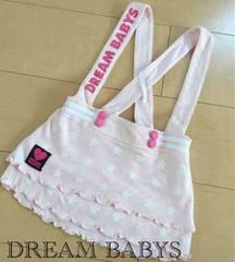 DREAM BABYS/BABY DOLL/�T���y�b�g�X�J�[�g/pink/90