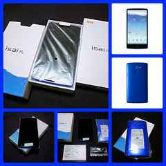 【新品未使用】au isai FL LGL24/Blue/4G LTE CA・WiMAX2+対応