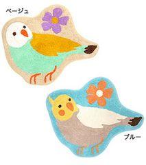 大人気☆オカメインコマット/十姉妹★鳥/バード/子供部屋/雑貨