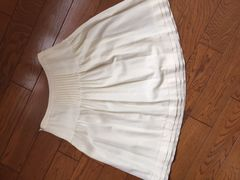 クリアインプレッション 秋冬 スカート 白 良品