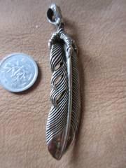 Silver925 feather 純銀  *フェザー* 13.8g n320'