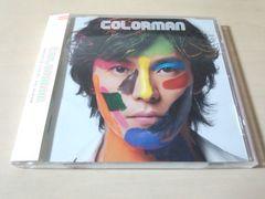 藤木直人CD「COLORMAN」●