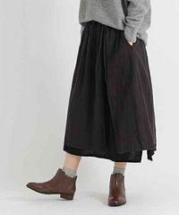 studio CLiP☆現在発売中!コットンリネンラップ風2wayスカート