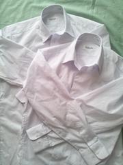 標準学生Yシャツ 白 長袖 160A ユーズド2枚set