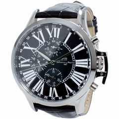 SALVATORE MARRA クオーツ メンズ 腕時計 SM14123-SSBK