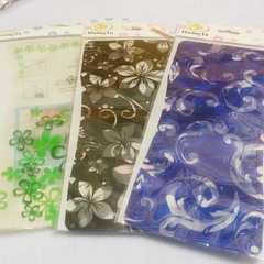 台湾土産*プラスチックフラワーベースセット*新品未使用