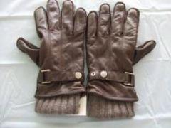COACH コーチ 3in1 グローブ 茶 カシミア XL手袋
