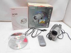 1738☆1スタ☆Canon 写真DV DVDビデオカメラ DC40