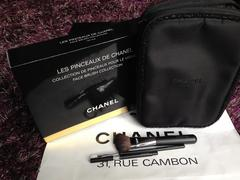CHANEL LES PINCEAUX MAKE UP ポーチ&ブラシセット