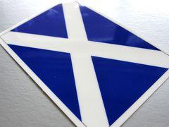 1□スコットランド国旗ステッカー☆1枚即買☆イギリス