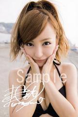 【送料無料】 AKB48板野友美 写真5枚セット<サイン入>23