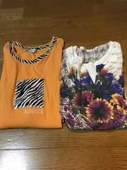 レディースまとめ売り2点トップスTシャツ