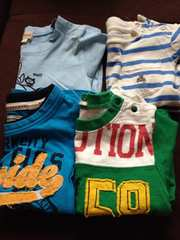 半袖Tシャツ4枚まとめ80 ブランド入り