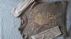重ね着風長袖Tシャツ120