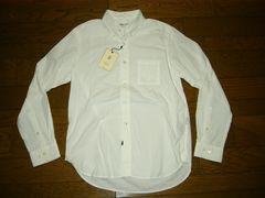 新品NEXUS7ネクサスセブンBDシャツ白L無地切っ放し�Z