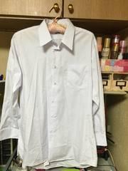 Yシャツ40ー78ホワイトYシャツ長袖