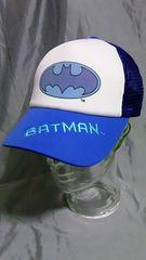 バットマン BATMAN メッシュキャップ未使用品ブルー