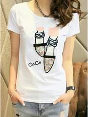 新品//半袖 Tシャツ ■細身/ Sサイズ /白