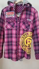 Real Bvoiceチェックシャツ☆Mサイズ