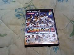 【PS2】プロ野球スピリッツ6