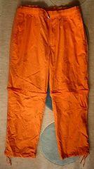 未使用EXOTHERMIC-ナイロンパンツ34 オレンジ