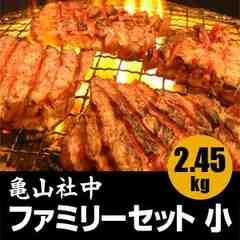 BBQに!亀山社中 ファミリーセット 小 2.45kg●1322797
