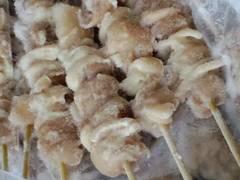 ☆炭火焼き鳥(モモ肉)  30g×50本入  冷凍