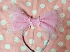 ☆Candy Fairyカチューシャ(サックス×ピンク)☆