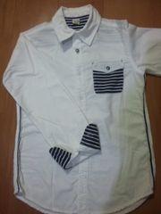 KUCHI-KOOクチクー かっこいいシャツ(キッズ150)
