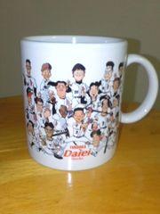 ダイエーホークス(現ソフトバンク)選手集合のマグカップ