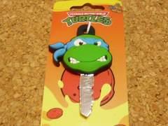 TMNTミュータント忍者タートルズキーカバーレオナルド青 アクセサリーアメコミ亀