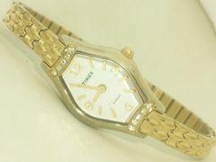 2575復活祭★TIMEXタイメックス☆素敵アクセサリー感覚ブレスレット型レディース腕時計